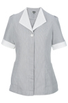 Edwards 7275 Edwards Ladies' Junior Cord Hidden Placket Tunic