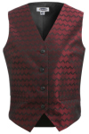 Edwards 7391 Edwards Ladies' Swirl Brocade Vest