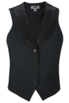 Edwards 7495 Edwards Ladies' Satin Shawl Vest