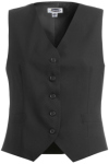 Edwards 7680 Edwards Ladies' High-Button Vest