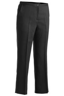Edwards 8279 Edwards Ladies' Polyester Flat Front Pant