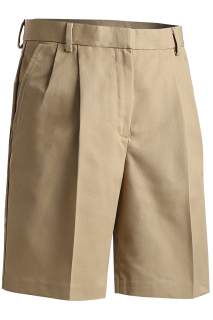 Edwards 8419 Edwards Ladies' Business Casual Pleated Chino Short
