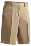 Edwards 8465 Edwards Ladies' Utility Flat Front Chino Short