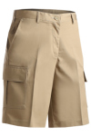 Edwards 8468 Edwards Ladies' Utility Cargo Chino Short