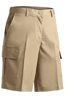 Edwards 8473 Edwards Ladies' Blended Cargo Chino Short