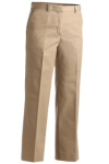 Edwards 8519 Edwards Ladies' Business Casual Flat Front Chino Pant