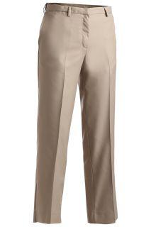 Edwards 8532 Edwards Ladies' Microfiber Flat Front Pant