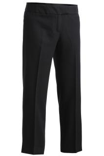 Edwards 8550 Edwards Ladies' Mid-Rise Flat Front Hospitality Pant