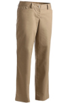 Edwards 8551 Edwards Ladies' Mid-Rise Flat Front Rugged Comfort Pant