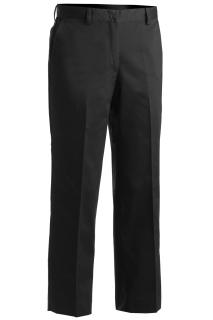 Edwards 8572 Edwards Ladies' Microfiber Flat Front Pant