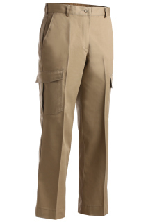 Edwards 8573 Edwards Ladies' Blended Chino Cargo Pant