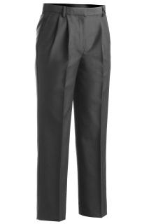 Edwards 8629 Edwards Ladies' Washable Wool Blend Pleated Front Pant