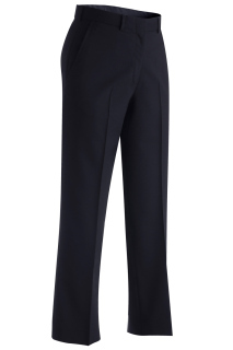 Edwards 8759 Edwards Ladies' Lightweight Wool Blend Flat Front Pant