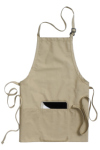 Edwards 9002 Edwards 3-Pocket Bib Apron