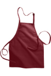 Edwards 9004 Edwards No-Pocket Bib Apron