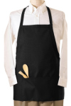 Edwards 9010 Edwards 3-Pocket E-Z Slide Bib Apron