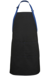 Edwards 9028 Edwards Bib Apron-Color Blocked