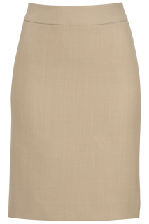 Edwards 9761 Edwards Ladies' Intaglio Microfiber Straight Skirt