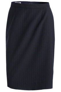Edwards 9769 Edwards Ladies' Pinstripe Straight Skirt
