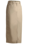 <b>Edwards Ladies Blended Chino Skirt-Long Length</b>