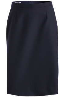 Edwards 9789 Edwards Ladies' Wool Blend Straight Skirt