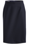 <b>Women&apos;s Poly/Wool Straight Skirt</b>