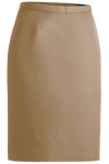 <b>Edwards Ladies Microfiber Straight Skirt</b>