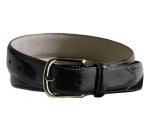 Edwards BP00 Edwards Leather Dress Belt With Brass Buckle