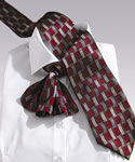 Edwards BS00 Basket Weave Tie
