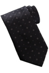 Edwards DT00 Edwards Men's Dot And Diamond Pattern Tie
