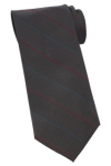 Edwards PS00 Edwards Pinstripe Silk Tie