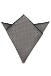 Edwards PS02 Edwards Polka Dot Pocket Square - Unisex