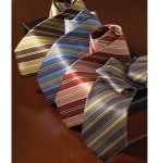 Samuel Broome S0306B Checkerboard Banded Tulip Bow