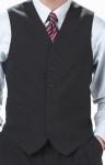 High Button Vests