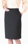 Women's 2 Pocket Straight Skirt