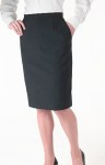 Women's Straight Cotton Skirt