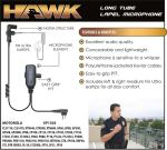 Ear Phone Connection Hawk Hawk Lapel Microphone