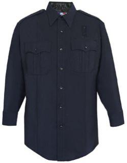 Fechheimer 07W8986Z Men's Long Sleeve Shirt W/Zipper 74/25/1