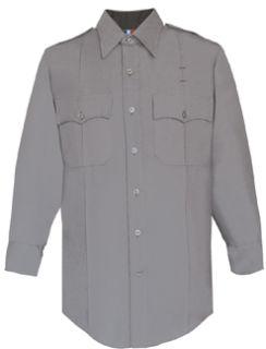 Fechheimer 102W6621 Womens Long Sleeve Light Grey Police Shirt