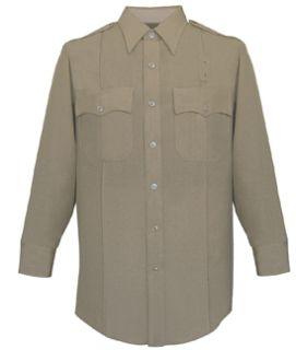Fechheimer 103W6604 Ladies Long SleevePolice Shirt Silvertan 6