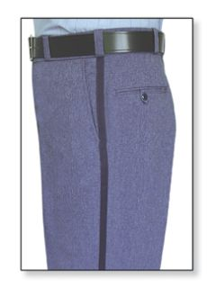 Fechheimer 10401 Postal Trouser 100% Poly Elastique