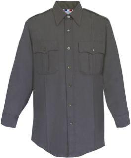 Fechheimer 104W6610 Ladies Long Sleeve Police Shirt Black 65%Po