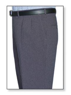 Fechheimer 10500 Men'sDouble Pleated Clerk Trouser Hunter Green