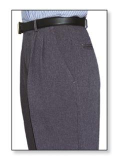 Fechheimer 10550 Women's Clerk Slack Heather Grey