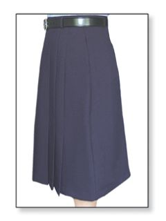 Fechheimer 10636 Women'sClerk Skirt Navy