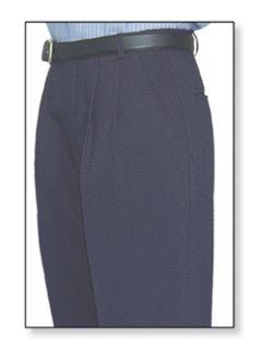 Fechheimer 10650 Women's Clerk Slack Navy