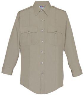 Fechheimer 126R5414 Ladies Long Sleeve Police Shirt Tan 65%P