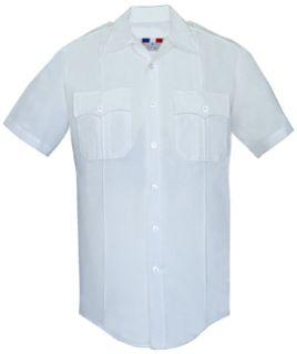 Fechheimer 152R6600 Ladies Short Sleeve Police Shirt  White 6