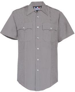 Fechheimer 152R6621 Womens Short Sleeve LightGrey Police Shirt