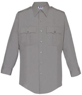 Fechheimer 15W5451 Mens Long Sleeve Police Shirt Lnickel Green